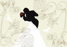 tło ślub royalty ilustracja