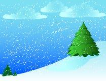 tło śnieżny Fotografia Royalty Free