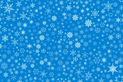 tło śnieg Obrazy Royalty Free