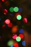tło świąteczne lampki Obraz Royalty Free