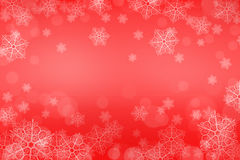 tło świąteczne lampki czerwony magii Obraz Stock