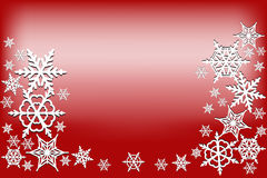 tło świąteczne lampki czerwony magii Zdjęcie Stock