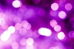 Tło Świąteczny abstrakcjonistyczny tło z bokeh defocused światłami obrazy royalty free