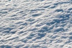 Tło świeży śnieg Zdjęcie Royalty Free