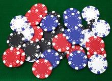 tło żetonów hazardu Fotografia Stock