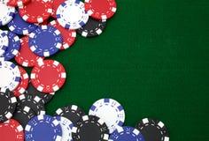 tło żetonów hazardu Zdjęcie Royalty Free