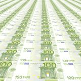 tło 100 euro Fotografia Stock
