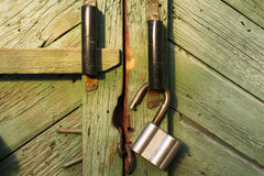 Tło abstrakci kasztel na drewnianym drzwi zdjęcie royalty free