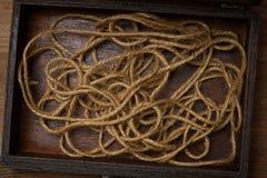 tło abstrakcjonistyczna arkana najlepszy widok Arkana w starym pudełku Zdjęcia Royalty Free