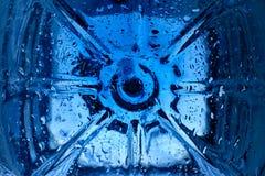 tło abstrakcjonistyczna błękitne wody Zdjęcia Stock