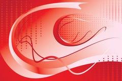 tło abstrakcjonistyczna czerwień Obraz Royalty Free