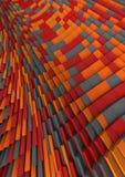 tło abstrakcjonistyczna pomarańcze Zdjęcie Royalty Free
