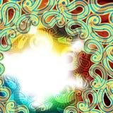 tło abstrakcjonistyczna tęcza Zdjęcia Royalty Free