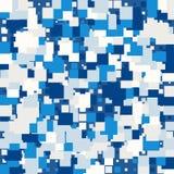 Tło abstrakcjonistyczna tekstura z kwadratami ilustracji