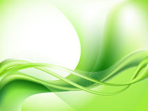 tło abstrakcjonistyczna zieleń Obraz Royalty Free