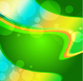 tło abstrakcjonistyczna zieleń Fotografia Stock