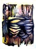 tło abstrakcjonistyczne kości Zdjęcia Stock