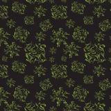 tło abstrakcjonistyczne postacie zielenieją bezszwowego Zdjęcie Royalty Free