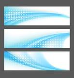 Tło abstrakcjonistyczni sztandary Zdjęcie Stock