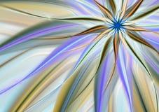 tło abstrakcjonistyczny kwiat royalty ilustracja