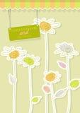 tło abstrakcjonistyczny kwiat Zdjęcia Royalty Free