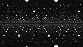 tło abstrakcjonistyczny minimalista Bezszwowa pętla Nieskończonej przestrzeni tło Matryca jarzyć się gra główna rolę z złudzeniem ilustracji