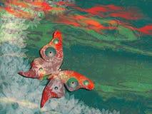 tło abstrakcjonistyczny motyl ilustracja wektor