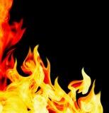 tło abstrakcjonistyczny ogień Zdjęcia Royalty Free