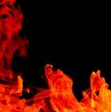 tło abstrakcjonistyczny ogień Obraz Stock