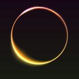tło abstrakcjonistyczny pierścionek Zdjęcie Stock