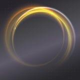 tło abstrakcjonistyczny pierścionek Zdjęcia Royalty Free