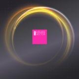 tło abstrakcjonistyczny pierścionek Fotografia Stock