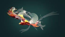 tło abstrakcjonistyczny projekt ilustracji