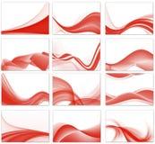 tło abstrakcjonistyczny set Obrazy Stock