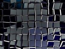 tło abstrakcjonistyczny sześcian 3d Fotografia Royalty Free