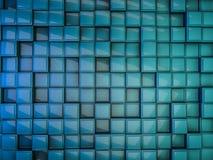 tło abstrakcjonistyczny sześcian 3d Zdjęcia Stock