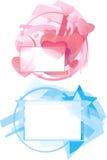 tło abstrakcjonistyczny wektor Obrazy Royalty Free