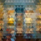 tło abstrakcjonistyczny wielobok Geometryczny tło w Origami stylu z gradientem Trójgraniasty projekt dla twój biznesu royalty ilustracja