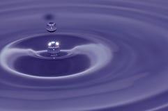 tło abstrakcyjna błękitna woda Obrazy Royalty Free