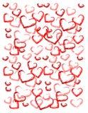 tło abstrakcyjna miłości royalty ilustracja