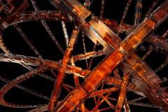 tło abstrakcyjna pomarańcze Fotografia Royalty Free