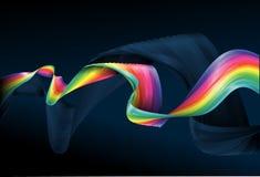 tło abstrakcyjna rainbow ilustracja wektor