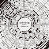 tło abstrakcyjna technologii ilustracja wektor