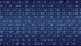 tło abstrakcyjna technologii binarnego kodu komputer Wektorowa bolączka Zdjęcia Stock