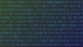 tło abstrakcyjna technologii binarnego kodu komputer Wektorowa bolączka Obrazy Royalty Free