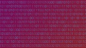 tło abstrakcyjna technologii binarnego kodu komputer Wektorowa bolączka Obraz Stock