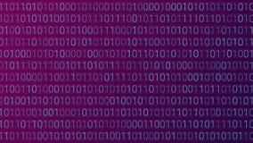 tło abstrakcyjna technologii binarnego kodu komputer Wektorowa bolączka Zdjęcie Stock