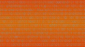 tło abstrakcyjna technologii binarnego kodu komputer Wektorowa bolączka Zdjęcie Royalty Free