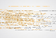 tło abstrakcyjna technologii Futurystyczny technologia interfejs Vecto Fotografia Royalty Free