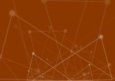 tło abstrakcyjna technologii Futurystyczny technologia interfejs Vecto Zdjęcie Royalty Free